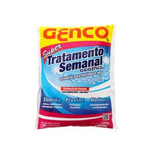 Super tratamento semanal oxigenco Genco Shopping das piscinas